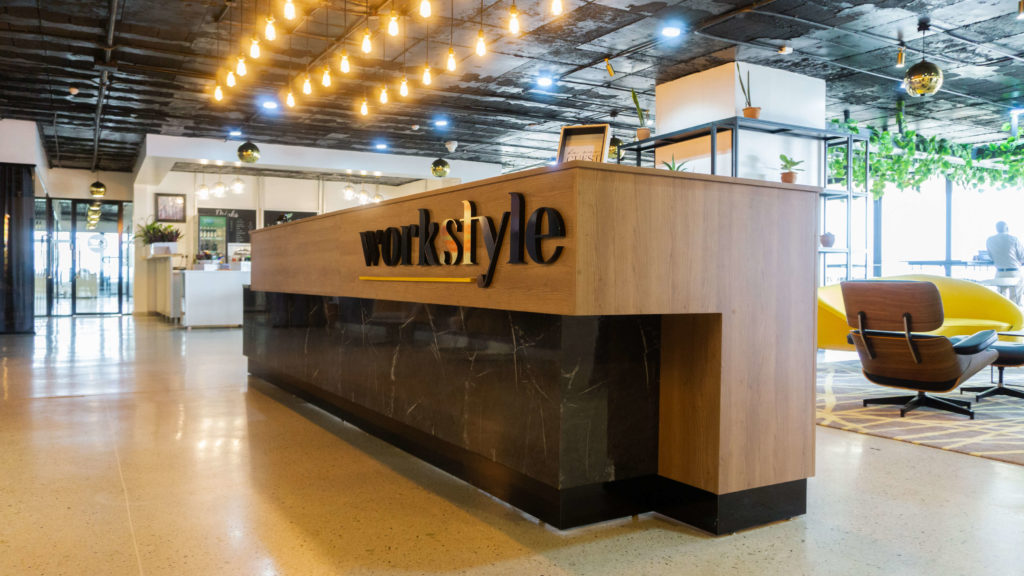 Reception Space - Workstyle Africa