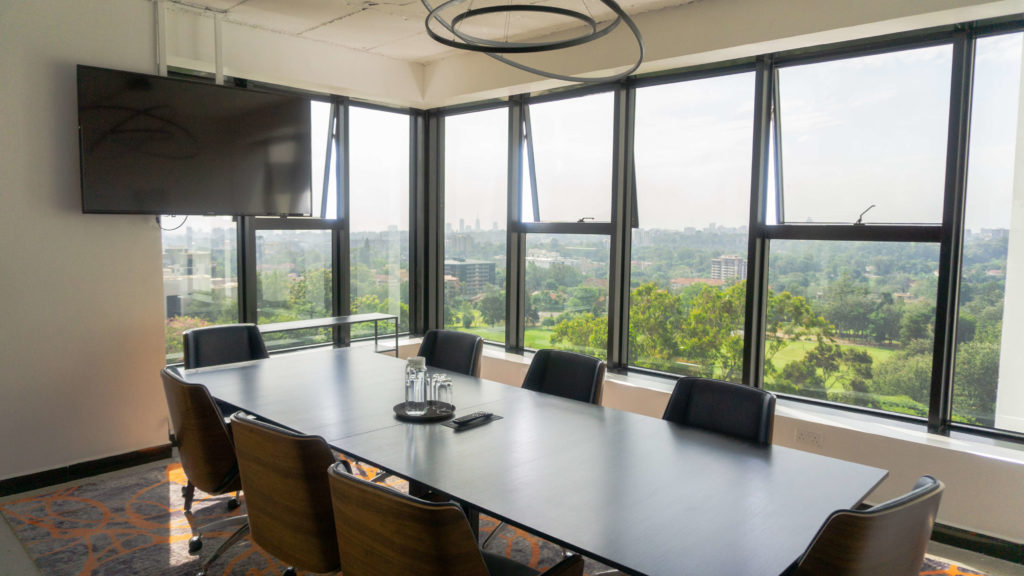 Video Conference Room Space - Workstyle Africa